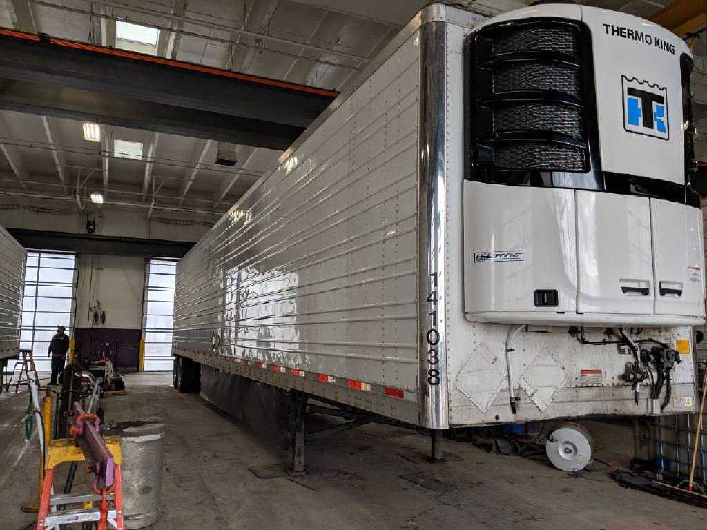 USED 2014 UTILITY NEW S-600 THERMOKING REEFER TRAILER #14060
