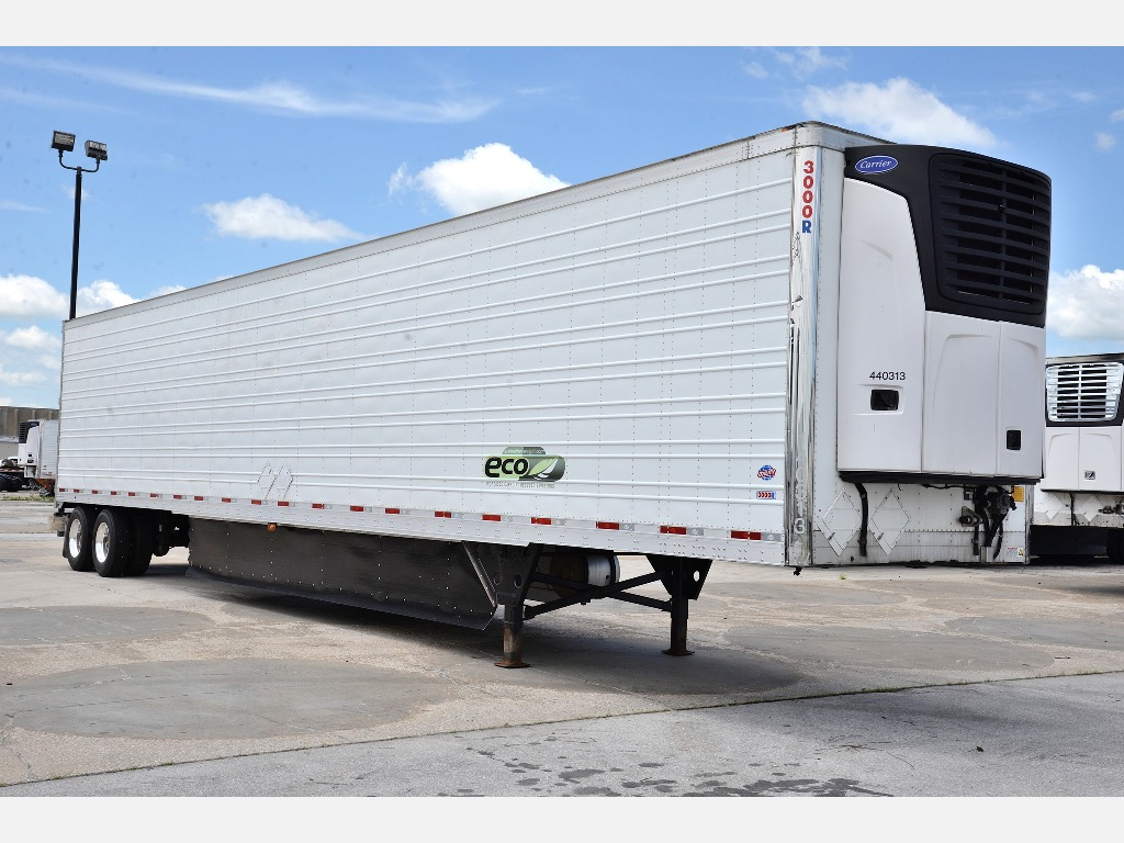 USED 2014 UTILITY 3000R REEFER TRAILER #14186