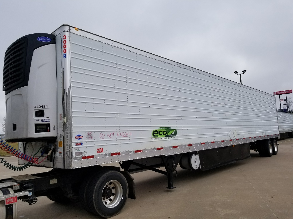 USED 2014 UTILITY 3000R REEFER TRAILER #14188
