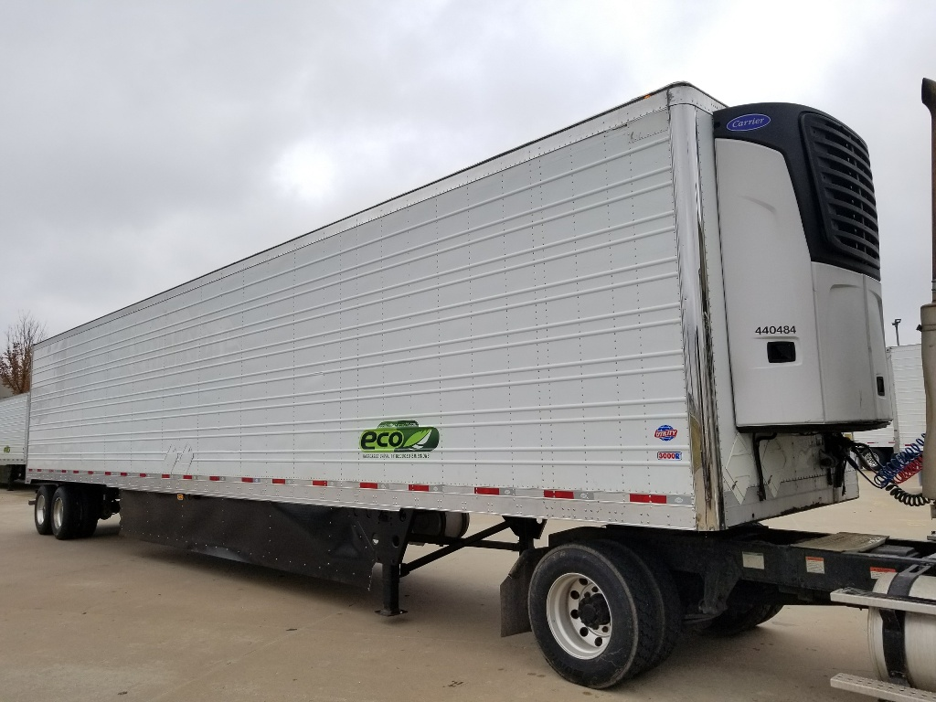 USED 2014 UTILITY 3000R REEFER TRAILER #14528