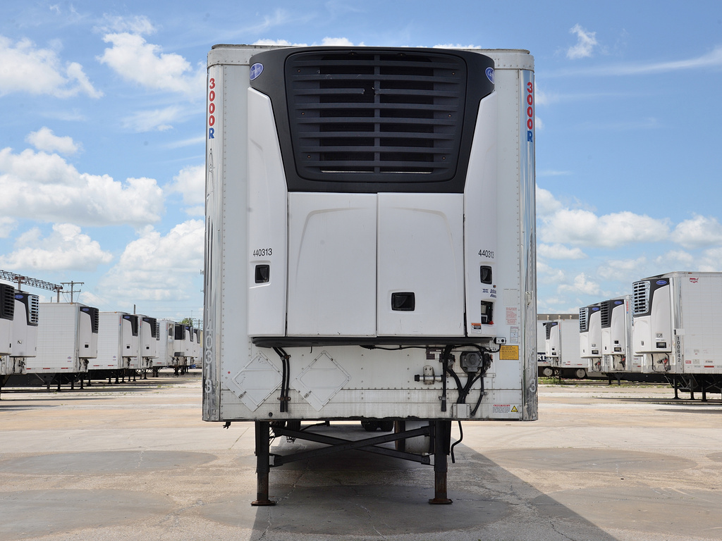 USED 2014 UTILITY 3000R WITH 2012 ENGINE REEFER TRAILER #14618