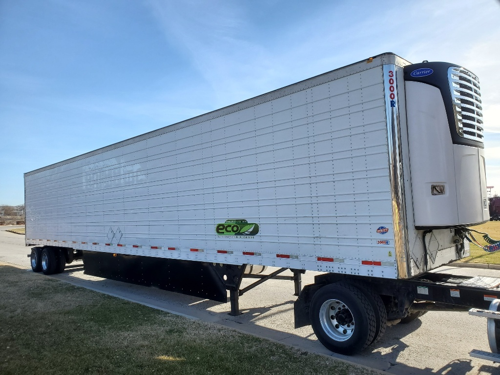 USED 2014 UTILITY NEW CARRIER 7500 X4 REEFER TRAILER #14622
