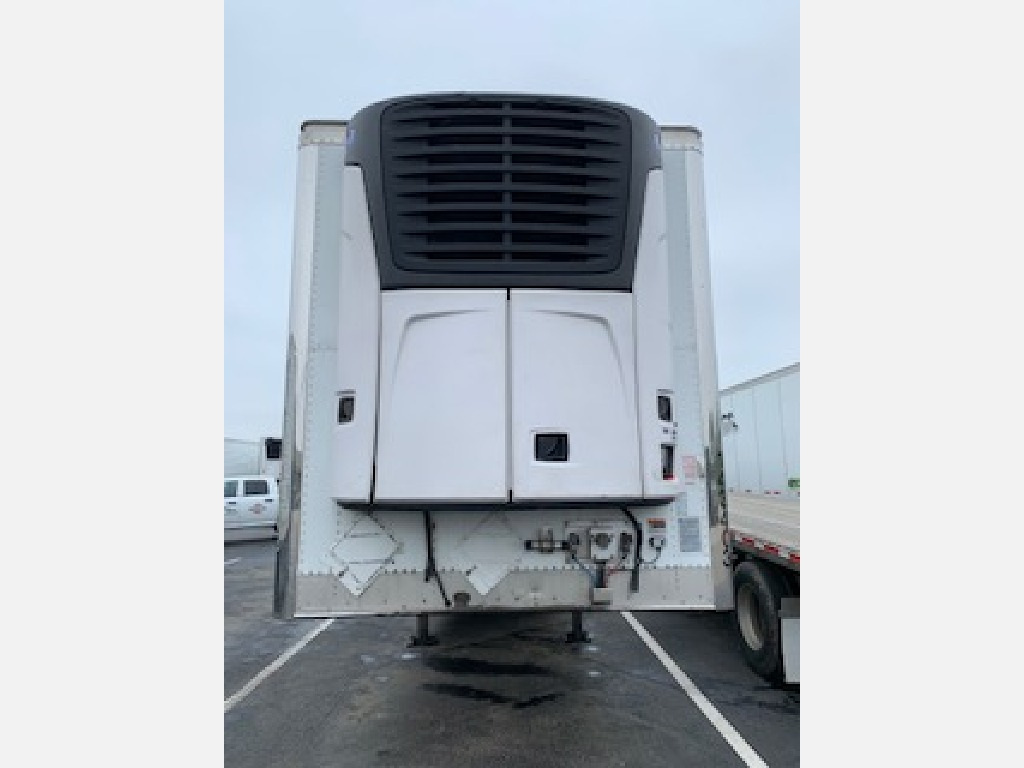 USED 2014 WABASH ARCTICLITE WIDEBASE TIRE REEFER TRAILER #14624