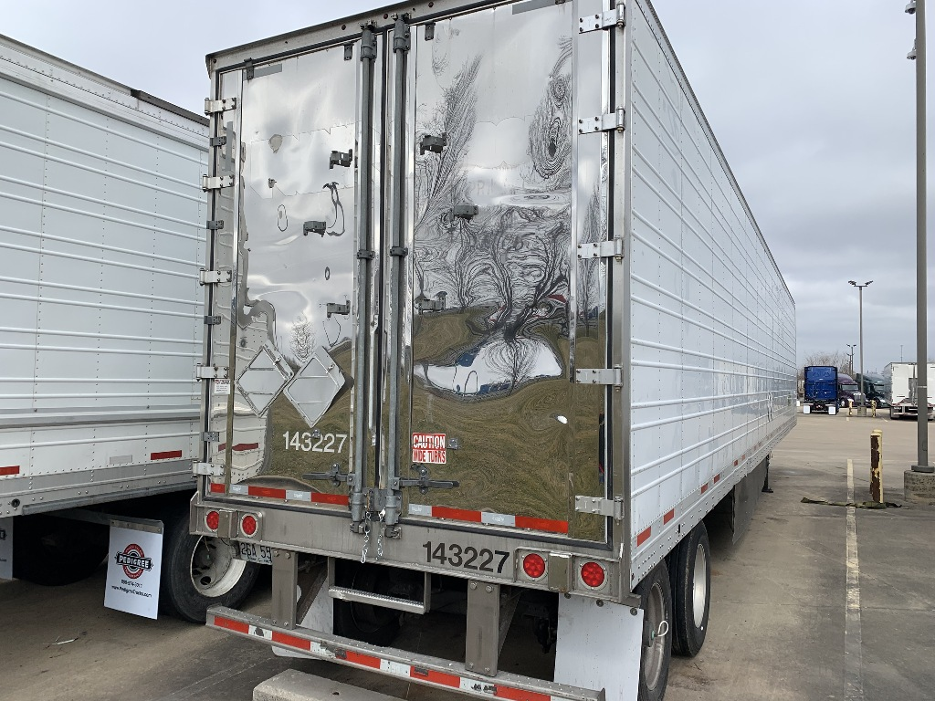 USED 2014 WABASH ARCTICLITE WIDEBASE TIRE REEFER TRAILER #14625