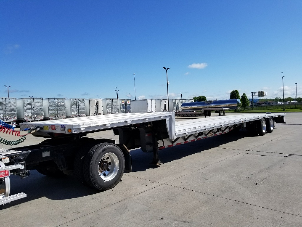 USED 2013 REITNOUER DROPMISER FLATBED TRAILER #161174