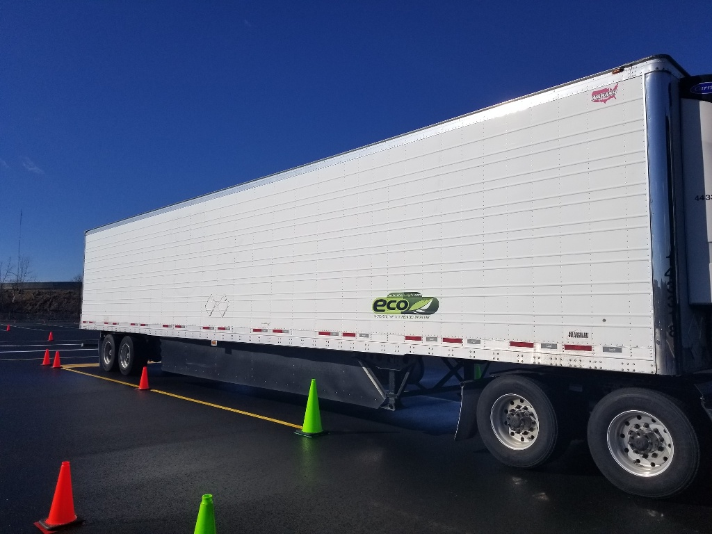 USED 2014 WABASH ARCTIC REEFER TRAILER #163866