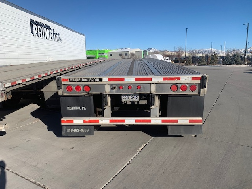 USED 2014 REITNOUER MAXMISER FLATBED TRAILER #163852