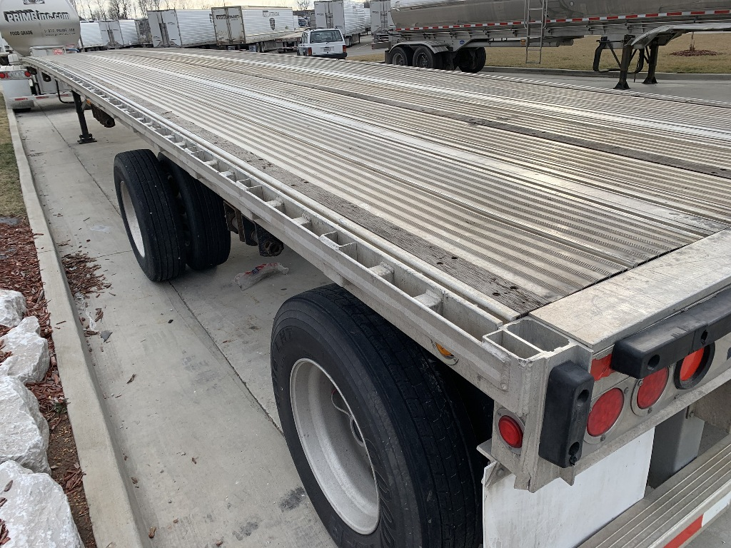 USED 2014 REITNOUER MAXMISER FLATBED TRAILER #163831