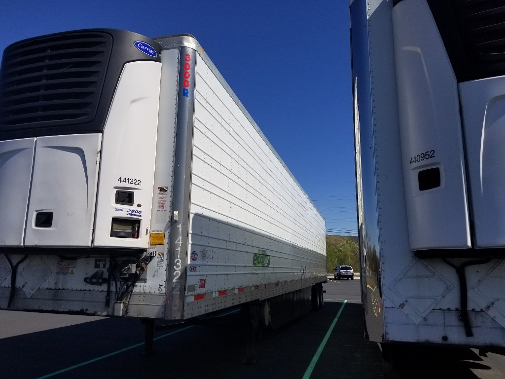 USED 2014 UTILITY 3000R REEFER TRAILER #173166