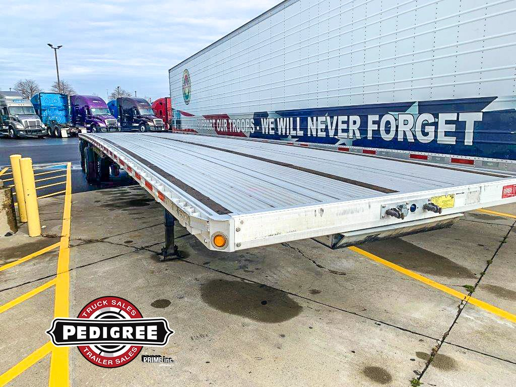 USED 2015 REITNOUER MAXMISER FLATBED TRAILER #20594