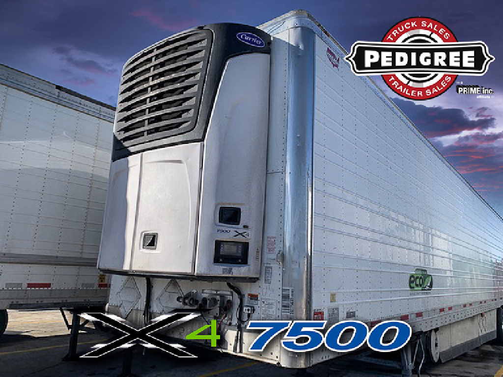 USED 2015 WABASH ARCTICLITE REEFER TRAILER #22232