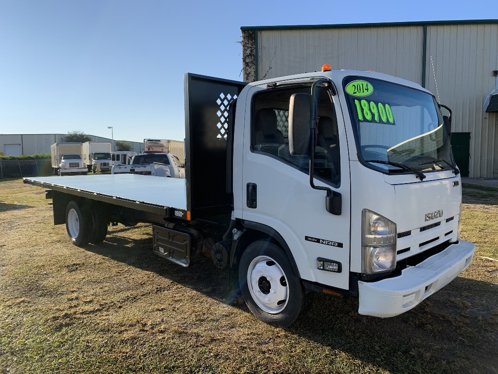 2014 ISUZU NRR-Cab and chassis Cab Chassis Truck #1