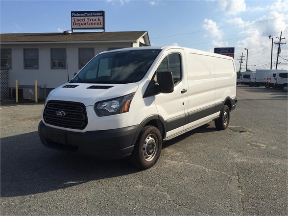USED 2017 FORD TRANSIT BOX VAN TRUCK #1315