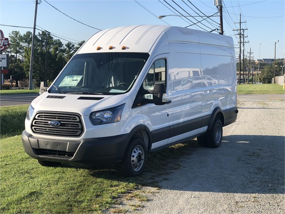 NEW 2018 FORD TRANSIT BOX VAN TRUCK #1376