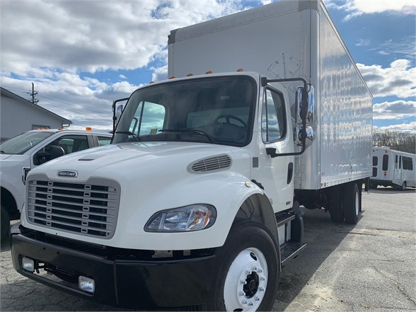 USED 2012 FREIGHTLINER BUSINESS CLASS M2 106 BOX VAN TRUCK #1380