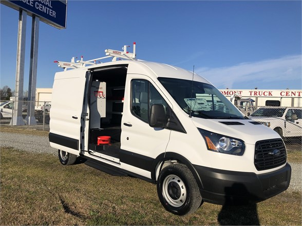 NEW 2019 FORD TRANSIT BOX VAN TRUCK #1417