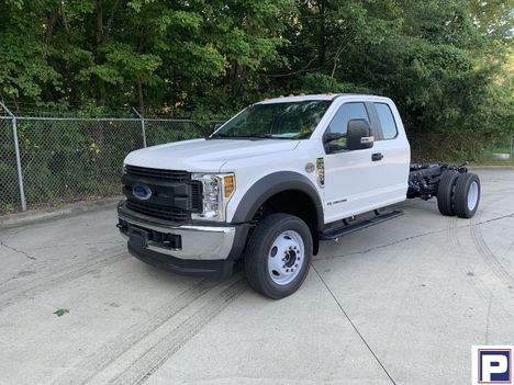 NEW 2019 FORD F550 XL SD CAB CHASSIS TRUCK #1540-1