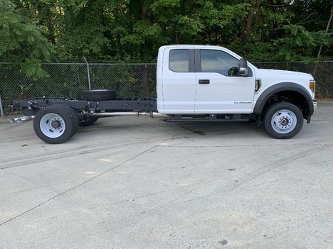 NEW 2019 FORD F550 XL SD CAB CHASSIS TRUCK #1540-8