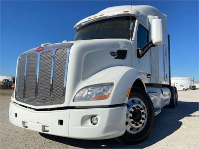 USED 2015 PETERBILT 579 SLEEPER TRUCK #3338-3