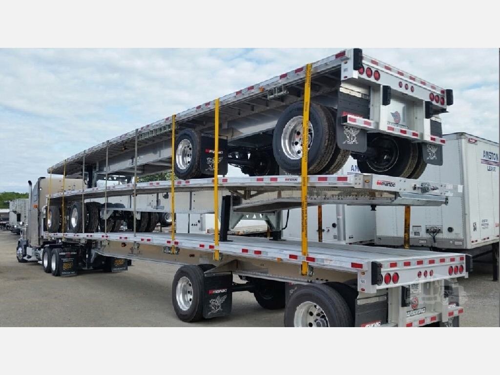 NEW 2020 MANAC 53' FLATBED - ALL ALUMIN FLATBED TRAILER #10894