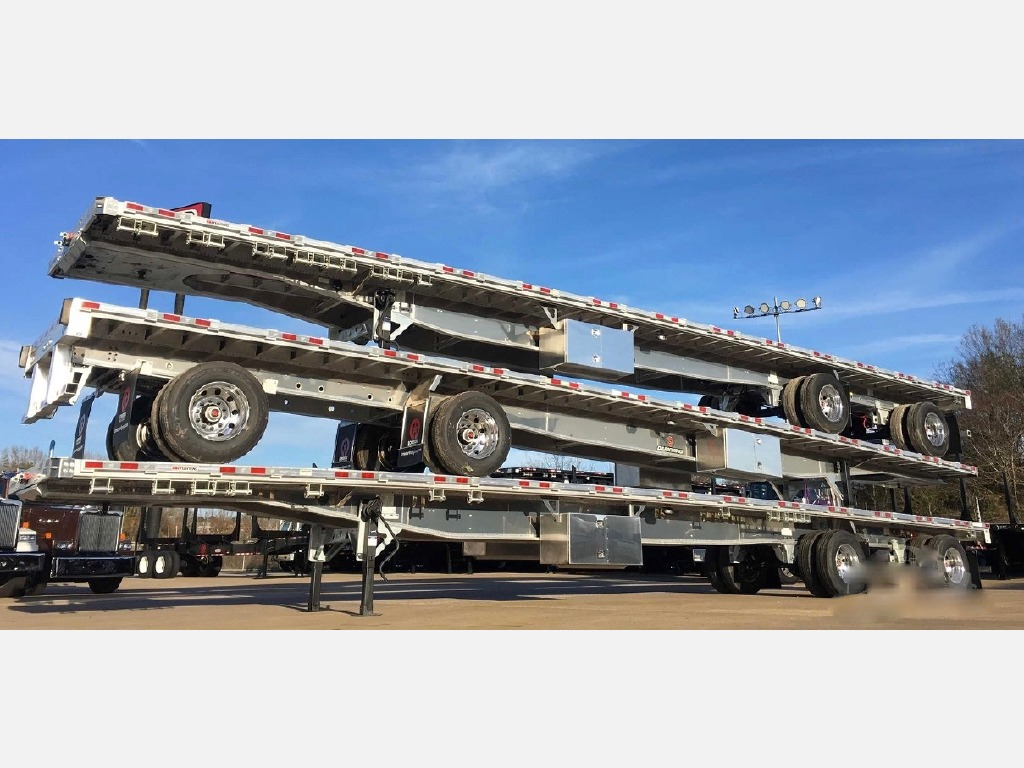 NEW 2020 MANAC 48' FLATBED - ALL ALUMIN FLATBED TRAILER #10895