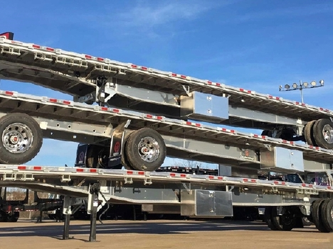 NEW 2020 MANAC 53' FLATBED - ALL ALUMIN FLATBED TRAILER #10896-2