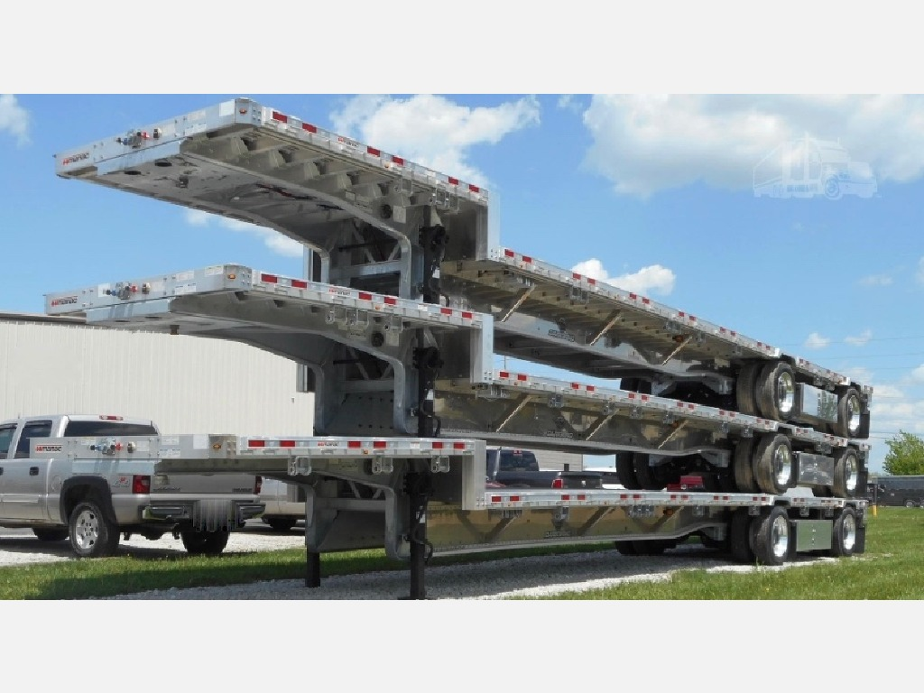 NEW 2020 MANAC 53' DROP DECK - ALL ALUM DROP DECK TRAILER #10898