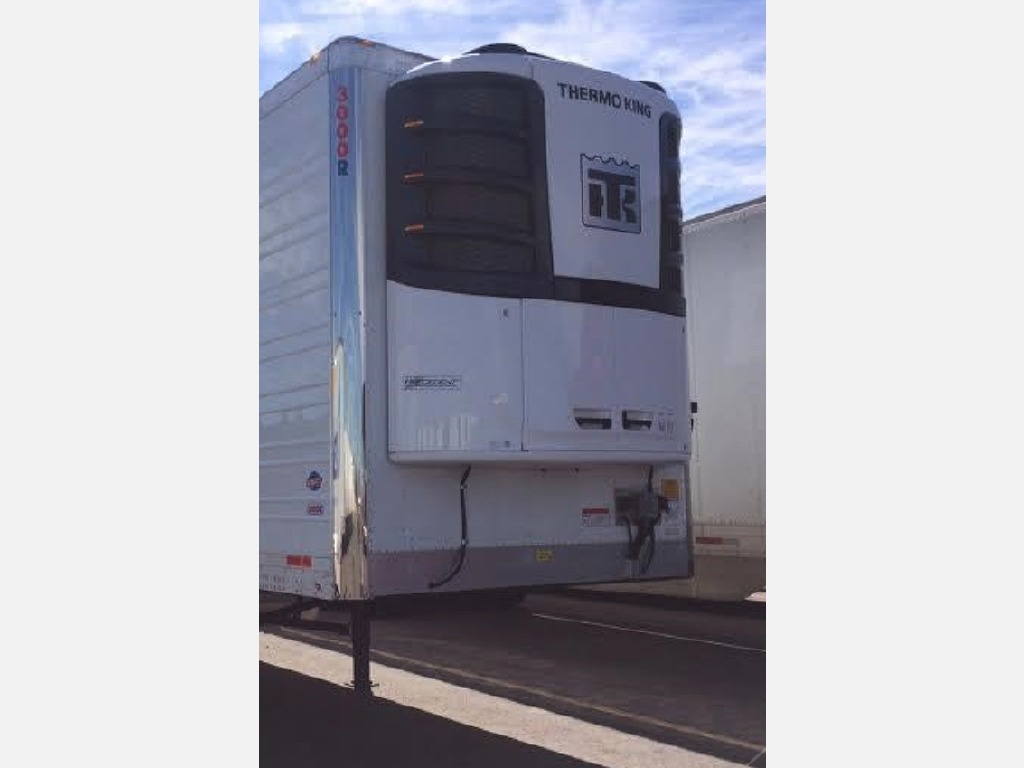 USED 2017 UTILITY WITH NEW TK S-600 REEFER TRAILER #10910
