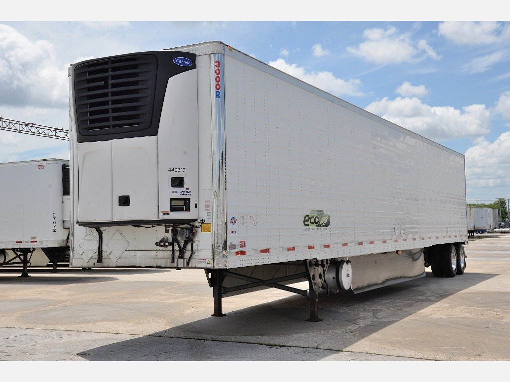 USED 2016 UTILITY 3000R WITH CARRIER 7500X REEFER TRAILER #10916