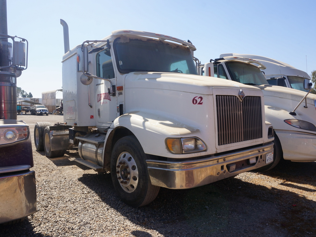USED 2007 INTERNATIONAL 9200I TANDEM AXLE SLEEPER TRUCK #10310
