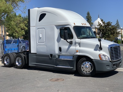 USED 2016 FREIGHTLINER CASCADIA 125 EVOLUTION TANDEM AXLE SLEEPER TRUCK #11696-5