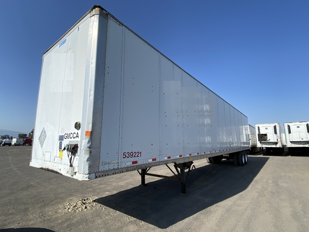 USED 2009 STOUGHTON DRY VAN VAN TRAILER #176760