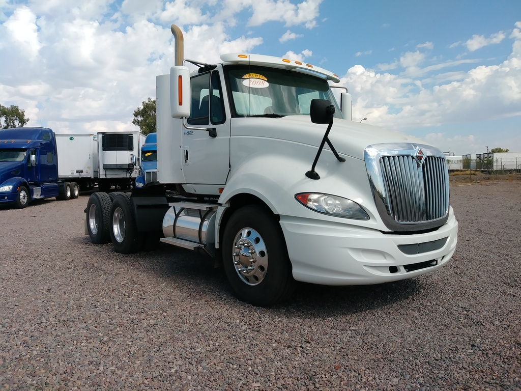 USED 2008 INTERNATIONAL PROSTAR TANDEM AXLE DAYCAB TRUCK #8658