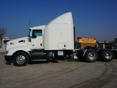 USED 2013 KENWORTH T660 TANDEM AXLE SLEEPER TRUCK #8892-11