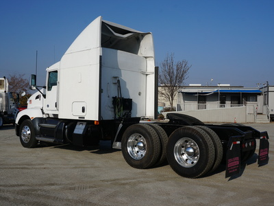 USED 2013 KENWORTH T660 TANDEM AXLE SLEEPER TRUCK #8892-4