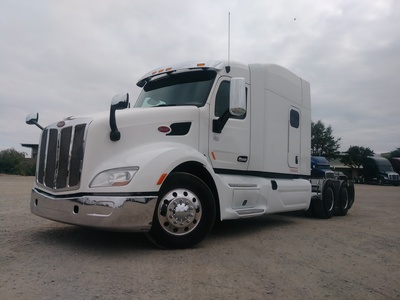 USED 2015 PETERBILT 579 TANDEM AXLE SLEEPER TRUCK #8936-1