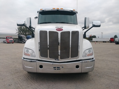 USED 2015 PETERBILT 579 TANDEM AXLE SLEEPER TRUCK #8936-2