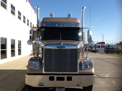 USED 2015 FREIGHTLINER 122SD TANDEM AXLE SLEEPER TRUCK #1549-4