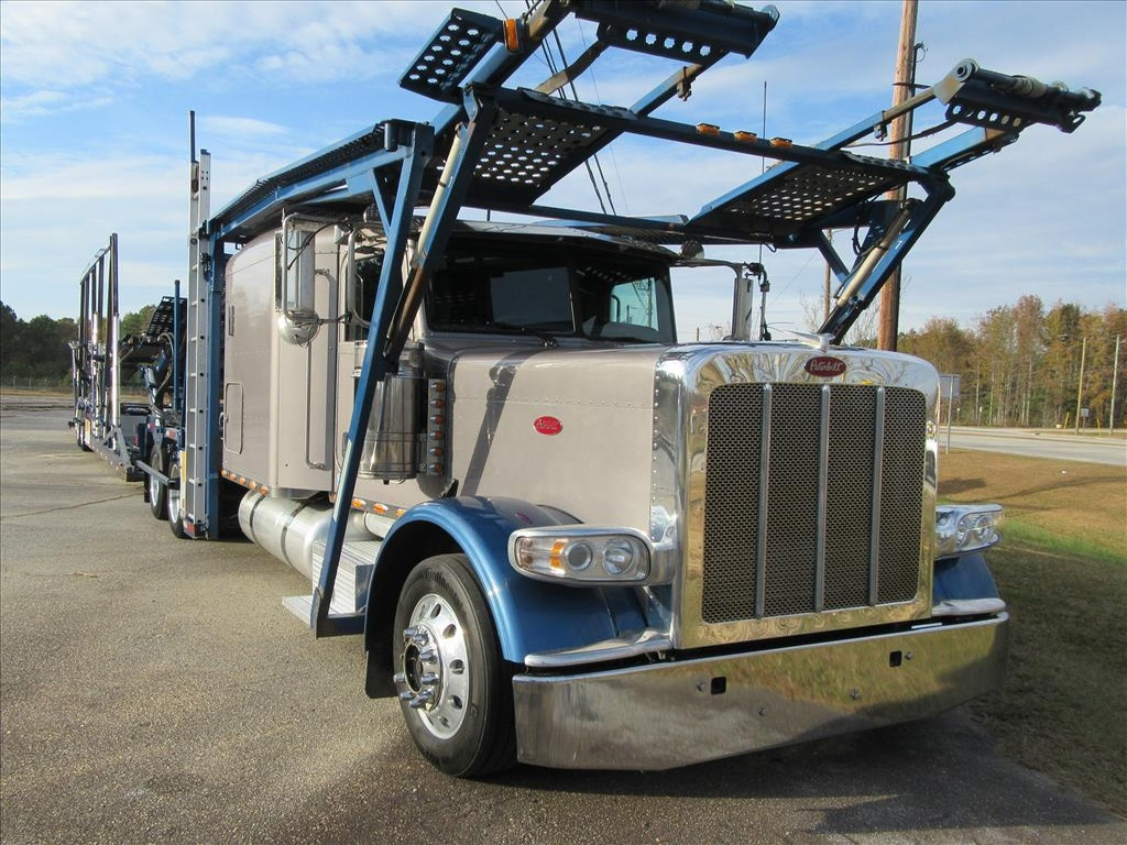 USED 2013 PETERBILT 388 TANDEM AXLE SLEEPER TRUCK #1192
