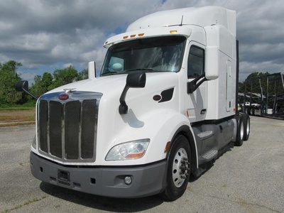 USED 2016 PETERBILT 579 TANDEM AXLE SLEEPER TRUCK #1201-1