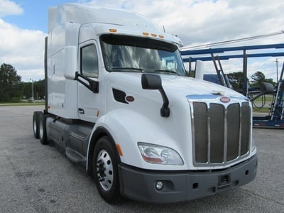 USED 2016 PETERBILT 579 TANDEM AXLE SLEEPER TRUCK #1201-2