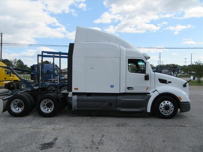 USED 2016 PETERBILT 579 TANDEM AXLE SLEEPER TRUCK #1201-4
