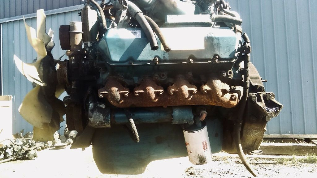 USED INTERNATIONAL NAVISTAR T444E COMPLETE ENGINE TRUCK PARTS #1158