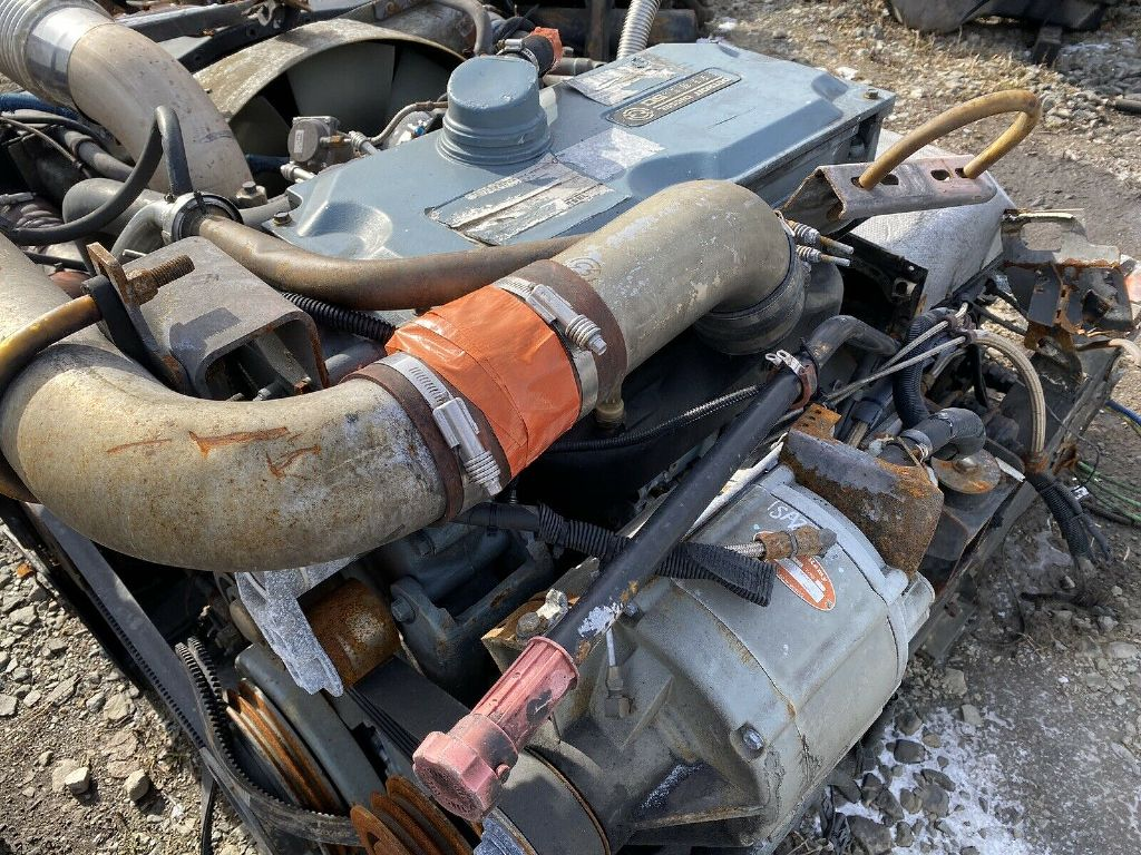 USED DETROIT SERIES 50 COMPLETE ENGINE TRUCK PARTS #1350