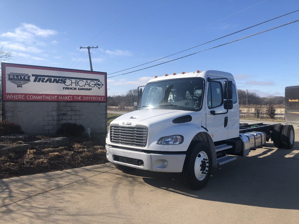 NEW 2020 FREIGHTLINER M2 106 CAB CHASSIS TRUCK #12708