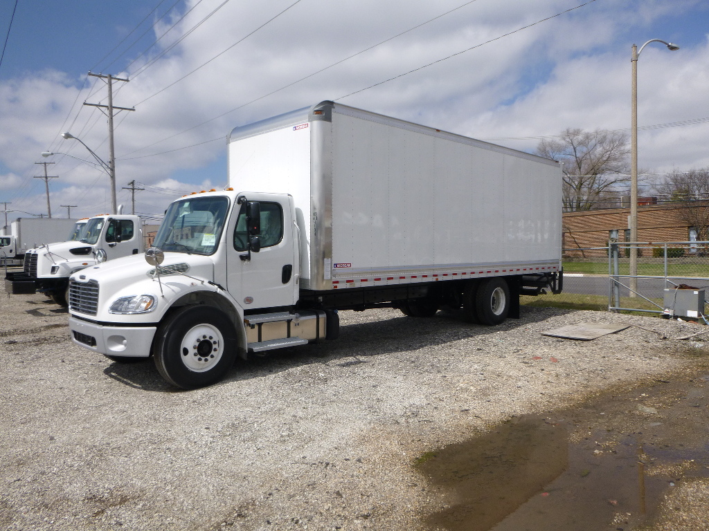NEW 2021 FREIGHTLINER M2 106 CAB CHASSIS TRUCK #14545