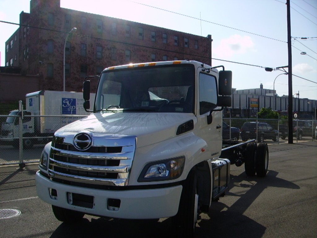 NEW 2018 HINO 268A CAB CHASSIS TRUCK #1154