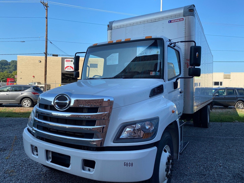 USED 2016 HINO 268A CAB CHASSIS TRUCK #1570