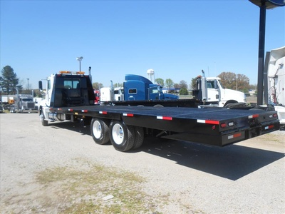 USED 2007 FREIGHTLINER COLUMBIA PRE EMISSIONS ROLLBACK TRUCK #6460-10