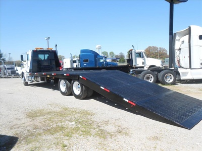 USED 2007 FREIGHTLINER COLUMBIA PRE EMISSIONS ROLLBACK TRUCK #6460-3